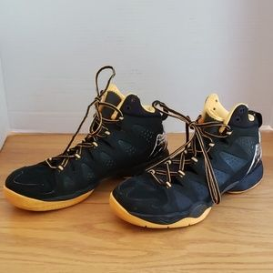 Nike Air Mello black & mango men's shoes size 8.5